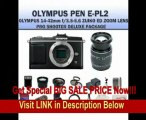 Olympus E-p2 Pen Digital Camera w/ 14-42mm Zuiko Lens (Includes Manufacturer's Supplied Accessories) + SSE PRO Shooter Deluxe Carrying Case, Batteries, Lens, Flash & Tripod Complete Accessories Package FOR SALE