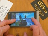 Sony Xperia SL - демонстрация работы