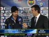 11 Kasım 2012 Fenerbahçe Orduspor Maçı Sonu Hasan Ali Kaldırım Röportajı
