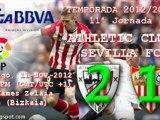 Jor.11: Athletic 2 - Sevilla FC 1 (11/11/20012)