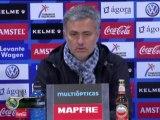 Mourinho: ''Hace mucho que no jugaba un partido en estas condiciones''