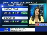 Modest gains for Wall Street- NASDAQ, Dow Jones up