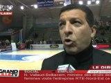 Basket : Villeneuve d'ascq - Mondeville (61 à 87)
