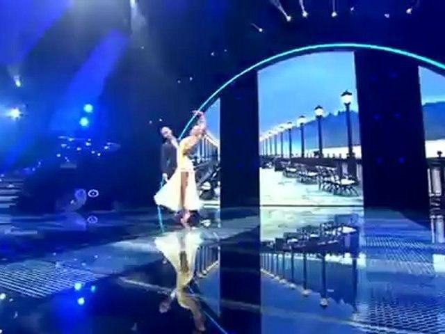 "Belinda et Fabian dansent sur ""singing in the rain"" - Demi-finale"
