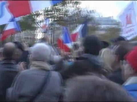 Manifestation contre le fascisme islamiste le 10 novembre 2012 à Paris