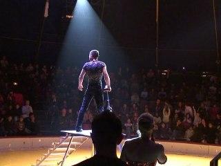 Dans les coulisses du cirque