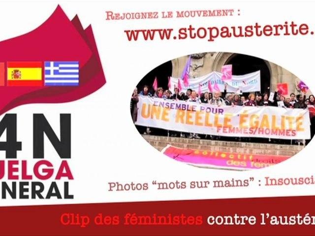 Féministes contre l'austérité !