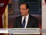 EVENEMENT,Conférence de presse de François Hollande