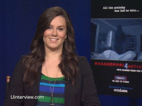 Katie Featherston on 'Paranormal Activity 4'