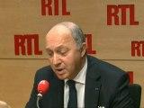 """Laurent Fabius, ministre des Affaires étrangères : """"J'appelle Israël et le Hamas à la retenue"""""""