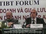 Ralph Ridder, directeur général ATIBT, Forum ATIBT, Ho Chi Minh City, 22-25 octobre 2012