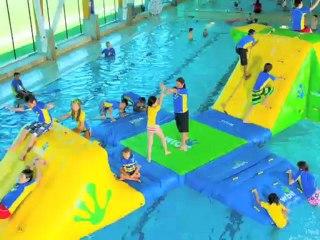Wibit Sports 2013 : Des gonflables aquatiques pour vos plages et piscines