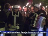 Le beaujolais nouveau millésime 2012 percé à Beaujeu