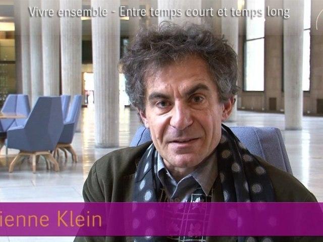 Etienne Klein - Vivre ensemble 2012 - cese
