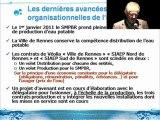 Soirée d'information grand public du 24 octobre : l'Avenir de l'eau à Rennes - Présentation technique de Vincent Pitois, directeur général du SMPBR