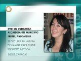 Alcaldesa de Freites se declara en huelga de hambre para exigir pagos de Pdvsa