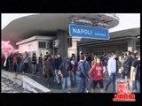 Napoli - Sciopero, gli studenti bloccano la Stazione ferroviaria (14.11.12)