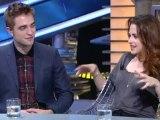 15.11.12 : Kristen, Robert et Taylor étaient à l'émission (El Hormiguero) à Madrid.