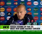 EURO 2008: Russia ready for must-win game against Sweden