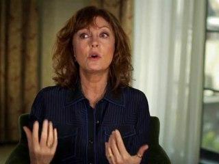 Susan Sarandon - Interview Susan Sarandon (Anglais)