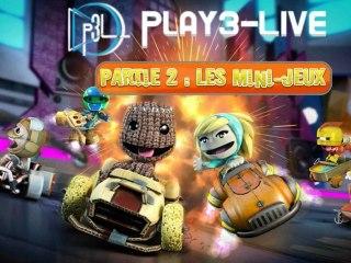 Vidéo de Gameplay Exclusive P3L de LittleBigPlanet Karting