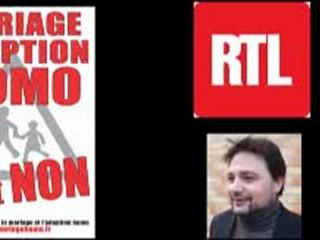 Manif pour tous : interview d'Olivier VIAL sur RTL