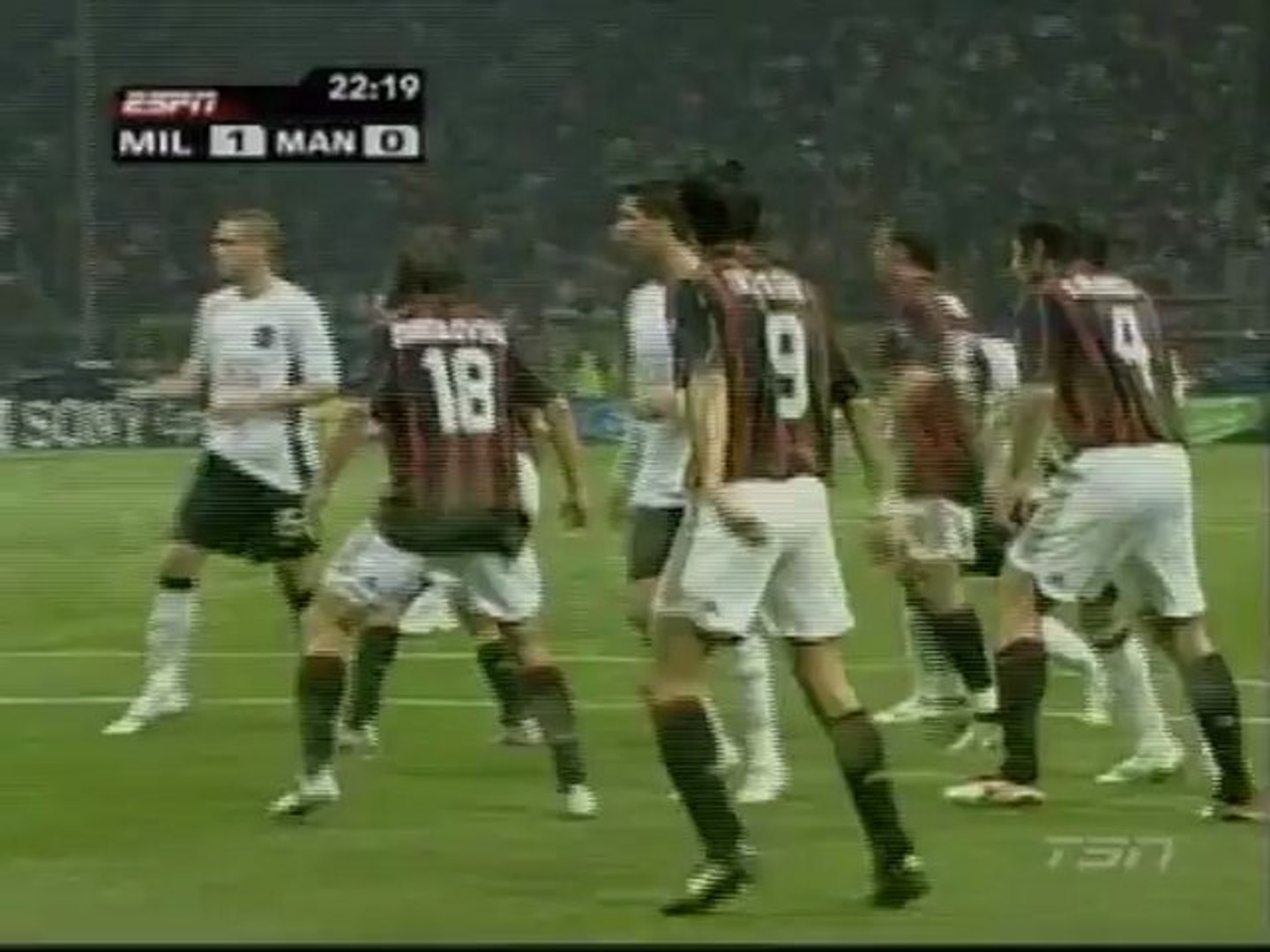 Ac Milan Vs Man Utd 2007 1st Video Dailymotion