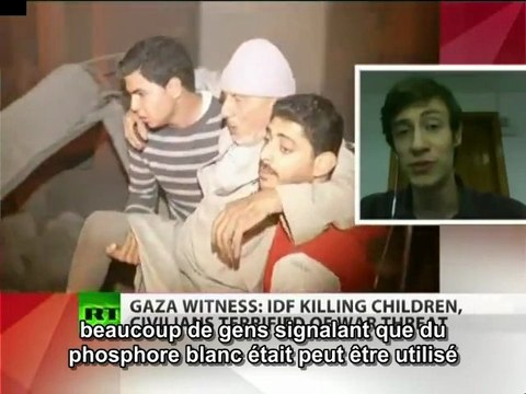 RT. Gaza, personne n'est en sécurité  S/T