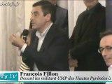 Lourdes François Fillon devant les militants UMP des Hautes-Pyrénées (3 novembre 2012)