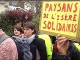 Manifestation contre l'aéroport à Notre-dame-des-Landes