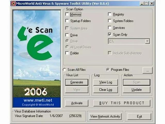 eScan Anti Virus & Spyware Toolkit Utility Free