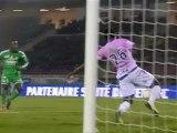 But Max-Alain GRADEL (28ème) - Evian TG FC - AS Saint-Etienne (2-2) - saison 2012/2013