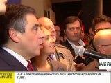 """Fillon conteste la victoire de Copé  : """"Je ne laisserai pas voler la victoire aux militants."""""""