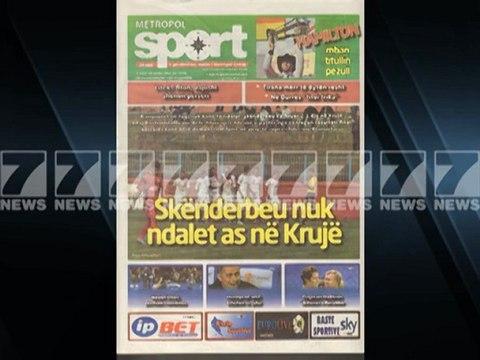 Shtypi i dites-Titujt kryesore te gazetave 19 nentor 2012