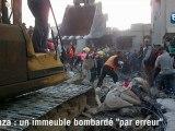 """Gaza : """"le missile est tombé en plein après-midi"""""""