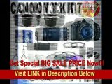 [SPECIAL DISCOUNT] Canon EOS Rebel T3i 18 MP CMOS Digital SLR Camera and DIGIC 4 Imaging with EF-S 18-55mm f/3.5-5.6 IS Lens & Canon 75-300 Lens + 58mm 2x Telephoto lens + 58mm Wide Angle Lens (4 Lens Kit!!!!!!) W/32GB