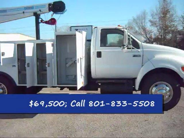 Mechanics Truck For Sale 2005 Ford F750 Mechanics Truck For Sale; F750 Service Trucks Crane Trucks