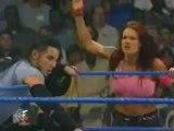 Trish Stratus, Test,  Albert Vs Lita , Matt Hardy  Jeff Hardy   06/22/00 (Trish's First Match)