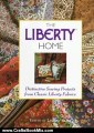 Crafts Book Review: The Liberty Home: Distinctive Sewing Projects from Classic Liberty Fabrics by Ljiljana Baird, Penny Brown