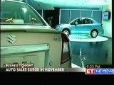 Auto sales surge in November on festive demand