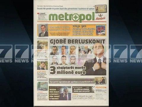 Shtypi i dites-Titujt kryesore te gazetave 20 nentor 2012