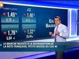 Ouverture de la Bourse de Paris - mardi 20 novembre