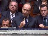 """Reportages : Jean-François Copé hué parle de """"malentendu"""" pour l'élection de François Hollande"""