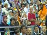 AKP Kongresinde Mesut Barzani'ye Türkiye seninle gurur duyuyor sloganı