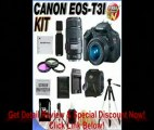 [BEST BUY] Canon EOS Rebel T3i 18 MP CMOS Digital SLR Camera and DIGIC 4 Imaging with EF-S 18-55mm f/3.5-5.6 IS Lens & Canon EF 75-300mm f/4-5.6 III Telephoto Zoom Lens (2 Lens Kit!!!!) W/32GB SDHC Memory+ Extra