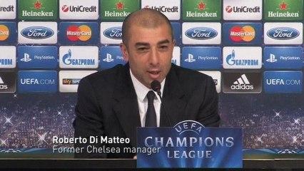 Chelsea sack manager Di Matteo