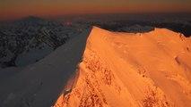 Sommet du Mont-Blanc refuge du Goûter vol panoramique en hélicoptère