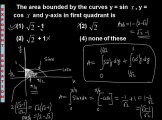 Integration Area Under Curve, Crack AIEEE, Crack CET, Crack IITJEE, Free Video Training Online