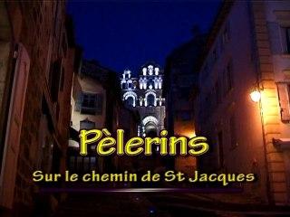 Pèlerins sur le chemin de St Jacques