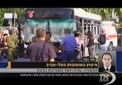 Attentato a Tel Aviv, bomba esplode su autobus: le prime immagini. Hamas: naturale reazione a aggressione israeliana a Gaza